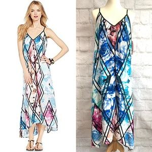NWT NY Collection (Macy's) floral maxi dress